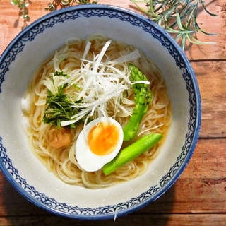 梅シソ和風冷麺