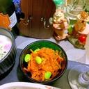 枝豆と人参のチーズサラダ