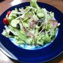 剣先スルメ&海苔サラダ