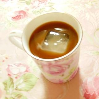 ❤林檎酒と林檎酢と林檎ジャムの珈琲❤