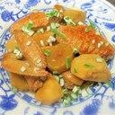 鶏手羽先と里芋の炒め煮