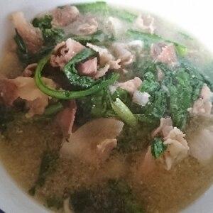 韓国料理☆ 酔い覚まし「ゆで豚大根スープ」