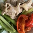 豚肉のマヨ生姜炒め