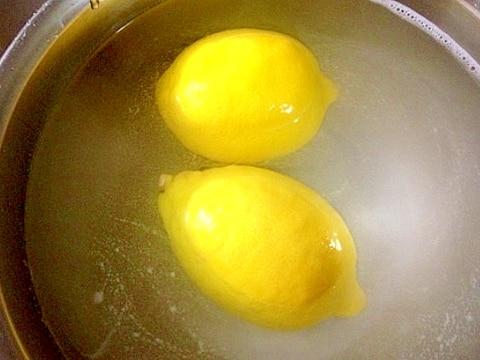 レモンりんご野菜の農薬ワックスを重曹で落とすやり方