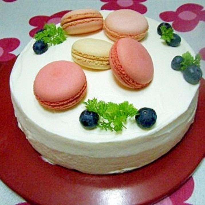 お菓子作りの基本中の基本♪スポンジケーキのレシピ!