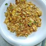 納豆チャーハン