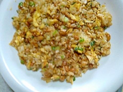 チャーハン レシピ 納豆