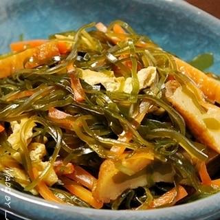 我が家の常備菜⑤ 切り昆布の炒め煮