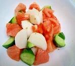 かぶときゅうりとトマトのサラダ