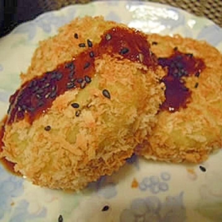 【ノンフライ】油を使わないdeさつま芋コロッケ