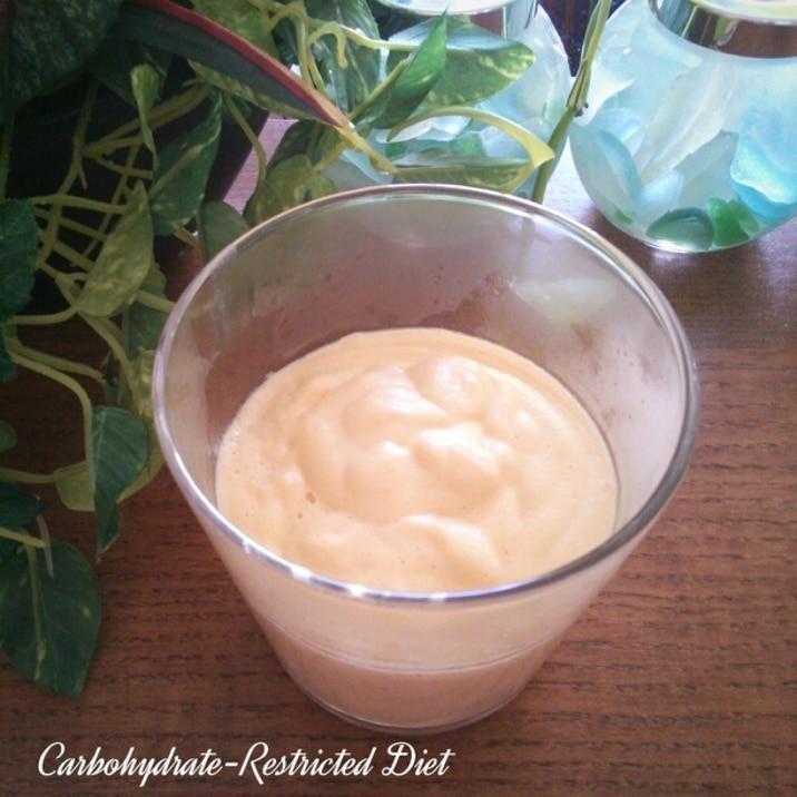 糖質制限★レンジで簡単★豆乳カスタードクリーム♡