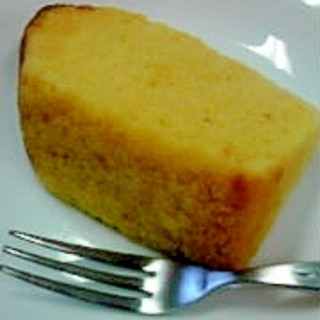 とうもろこしのシフォンケーキ