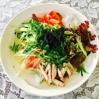 お野菜たっぷり#サッパリ冷麺