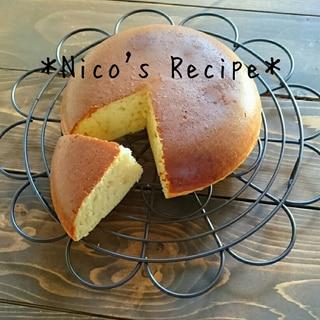 HMと炊飯器で簡単♪きな粉ケーキ