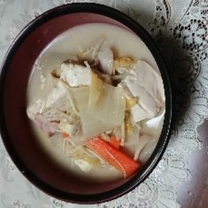 コク旨♫ゴマ豆乳鍋