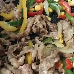 5分!?焼肉のタレで❤牛肉切り落としの炒め物♪