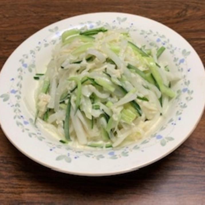 サラダ 大根 の と ホタテ