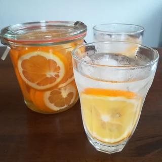 国産レモンで作るはちみつレモン