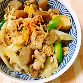 簡単夕食!豚こま肉で♪すき焼き風*肉豆腐