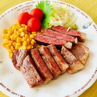 宮崎牛サーロインステーキ☆美味しい焼き方*✩⡱:゚