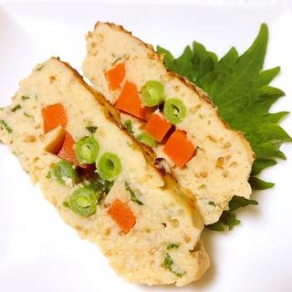 鶏ひき肉の和風ミートローフ♪魚焼きグリルで簡単