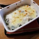 味噌汁リメイク 冷や飯でチーズドリア風