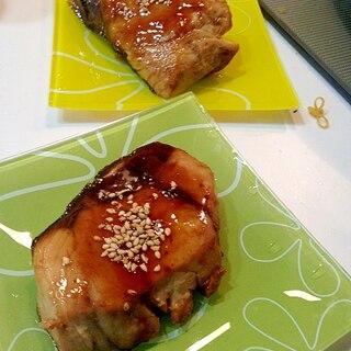 麺つゆでブリの照り焼き