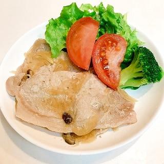 減塩必須の方におすすめ♪椎茸入りの薄口豚肉生姜焼き
