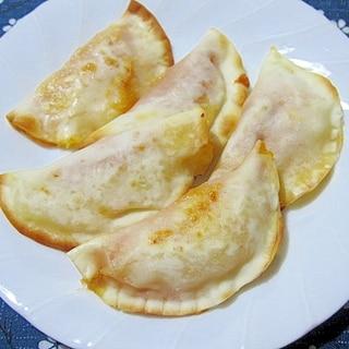 餃子の皮で作るミニカルツォーネ
