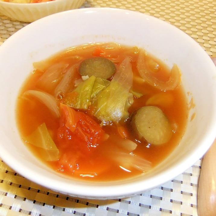 重ね煮で☆味わいカレースープ