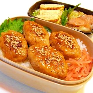 鶏つくね丼弁当