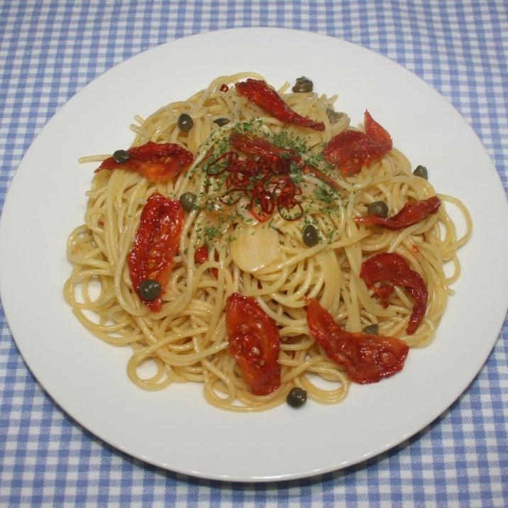 簡単ためしてガッテン☆ドライトマトでペペロンチーノ