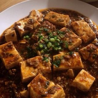 鶏胸ひき肉で、節約、ヘルシー麻婆豆腐