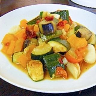 彩り夏野菜たっぷりのニョッキ
