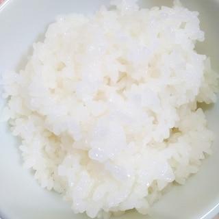 冷めても硬くならない!炊飯器で作る白むしおこわ♪