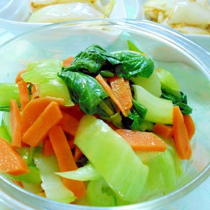 レンジで簡単♪チンゲン菜のナムル
