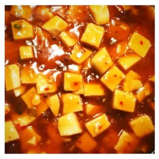 エバラ台湾ラーメンの素で麻婆豆腐