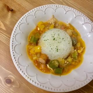 アメリカ料理の逸品*ガンボスープ