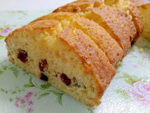 おやつに☆干し柿のパウンドケーキ