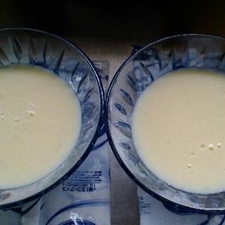 寒天で作る簡単豆乳プリン