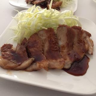 とんかつ用のお肉で簡単焼豚