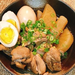 鶏肉と大根のめんつゆ煮