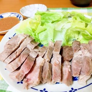 超簡単★柔らかジューシー茹で豚