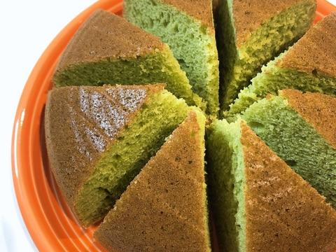 炊飯器で青汁ケーキ