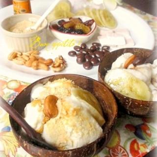 ★アイス屋さんごっこ♪濃厚バナナアイスクリーム★