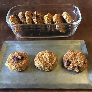 カボチャとサツマイモのスコーン風クッキー