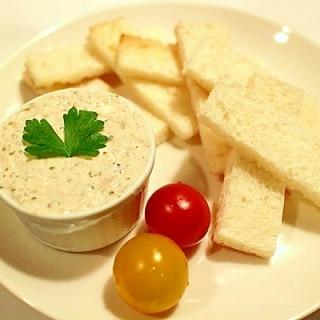 【超簡単】クリームチーズでツナのパテ風ディップ