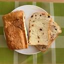 HBで☆ドライフルーツ&ナッツ食パン