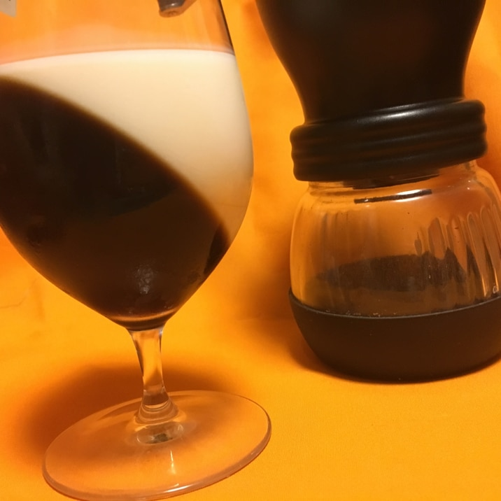 グラスdeコーヒーゼリー