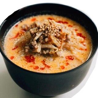 豆乳坦々スープ